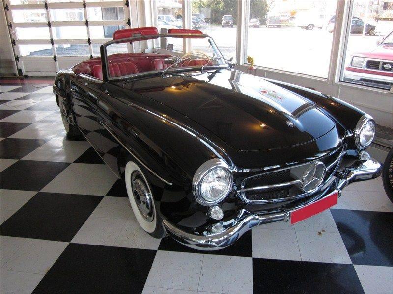 1960 Mercedes SL Class Convertible Check Out That Interior Smokin